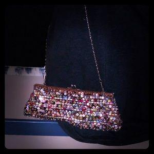 Sequin clutch purse 💜💜💜